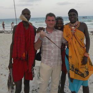 Ultimele fotografii cu directorul DSV sunt facute anul trecut in Kenia