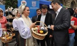 """Florin Tecău, președintele CJ, la deschiderea târgului """"Zilele Argeșului și Muscelului"""""""