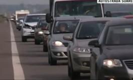 Aglomeraţie pe DN7 Piteşti- Rm Vâlcea