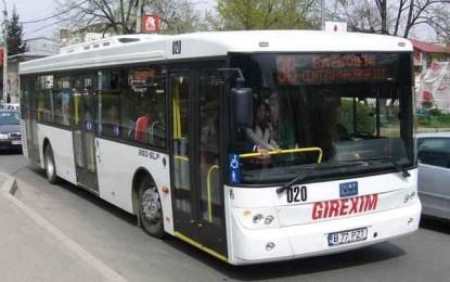 Începând de azi, program nou la autobuze!