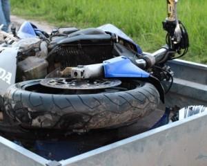 Motociclist din Sibiu rănit la munte