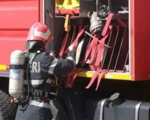 Pompierii chemaţi să stingă o oală cu mâncare