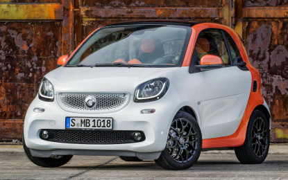 Preţuri Smart Fortwo şi Forfour în România: noul model mini porneşte de la 11.350 euro