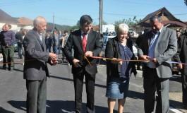 Drumul care face legătura cu județul Vâlcea, la Morărești, a fost asfaltat