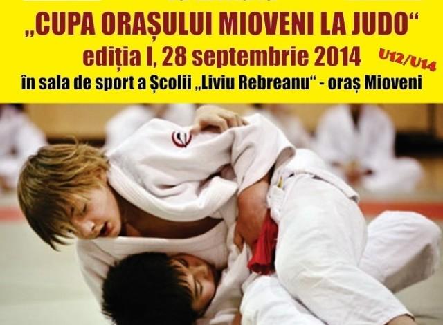 La Mioveni – Cupa oraşului la judo