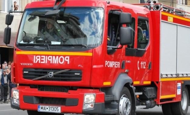 O tanara de 29 de ani si copilul ei de 11, cu arsuri grave dupa ce casa le-a luat foc