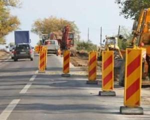 Atenție șoferi! Se lucrează pe Autostrada București-Pitești