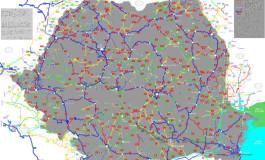 Harta drumurilor din România ne face de râs - În Argeş cele mai proaste artere rutiere