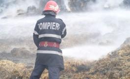 ACUM ! Incendiu la Valea Iaşului - Femeie de 53 ani dusă la spital