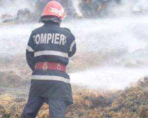 Piroman de Argeş  – A incendiat tone de fân