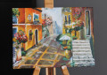 """""""O viaţă în pete şi culori"""" – Artă pe trepte, o expoziţie By Oana, sâmbătă la Piteşti"""