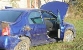 Grav accident la Curtea de Argeş - A intrat cu masina in teava de gaze