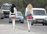 Prostituata model e din Curtea de Arges - Isi plateste constiincios amenzile