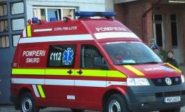 EXCLUSIV! Doi bătrâni au ajuns la spital cu arsuri grave după ce casa le-a luat foc
