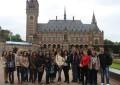 """Elevii de la Colegiul Naţional Pedagogic """"Carol I"""" şi-au întâlnit, la Haga, """"colegii"""" din Bulgaria, Polonia, Norvegia şi Olanda"""