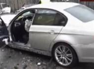 Accident în zona stadionului Nicolae Dobrin