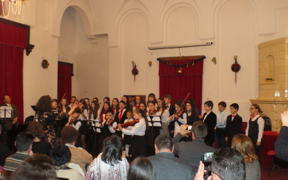 Concert de final de an la Şcoala de Muzică