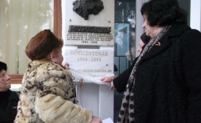S-au sărbătorit 50 de ani de la înfiinţarea şcolii Nr 4