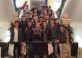 Echipa de fotbal a CSŞ Dinicu – Golescu a pornit la colindat