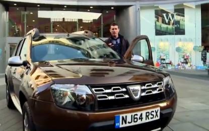 VIDEO INCREDIBIL ! Cati bani ar da englezii pe un Dacia Duster ? VEZI TESTUL FACUT LA LONDRA