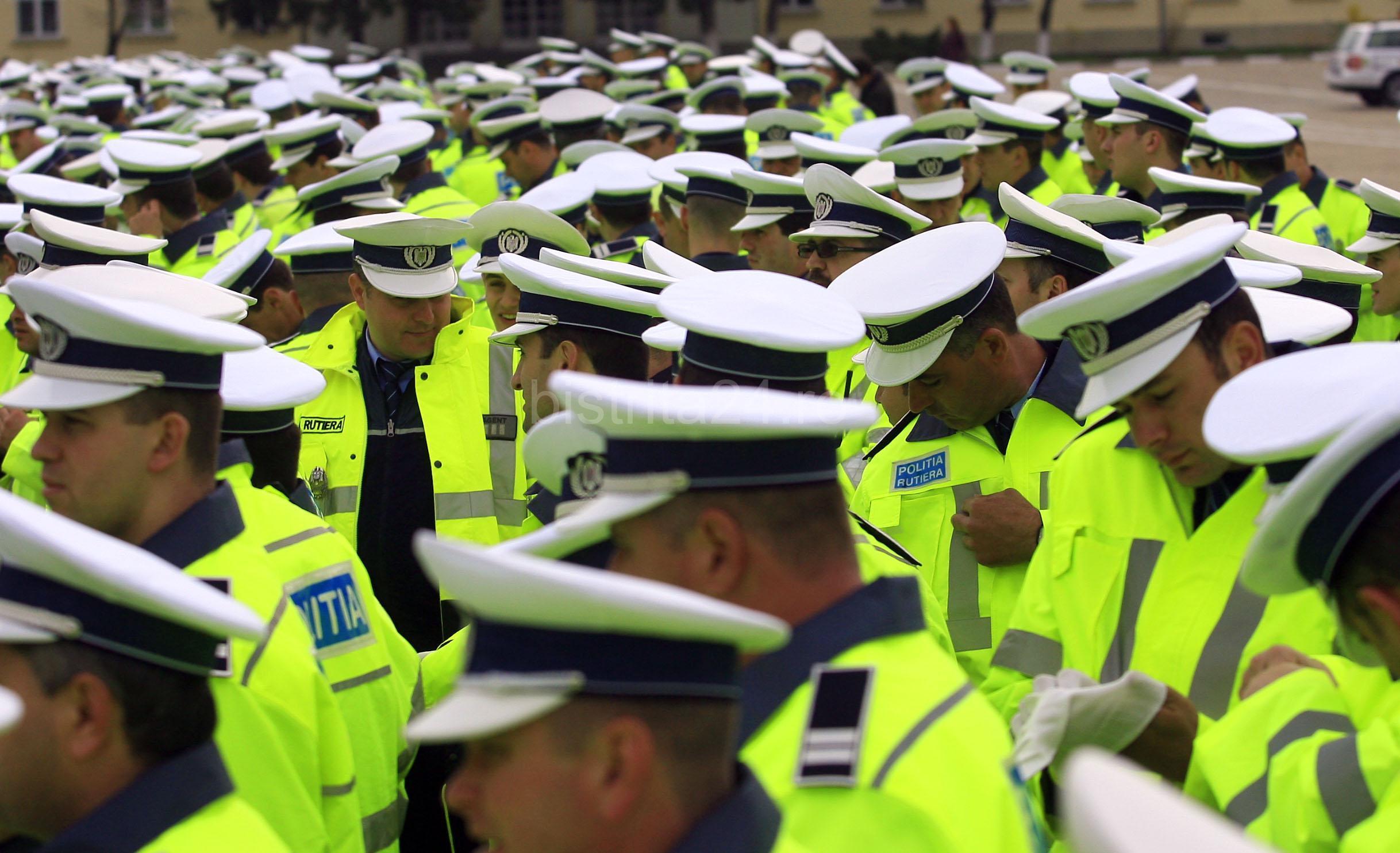 Pentru sarbatori linistite, 340 de politisti vor supraveghea Argesul