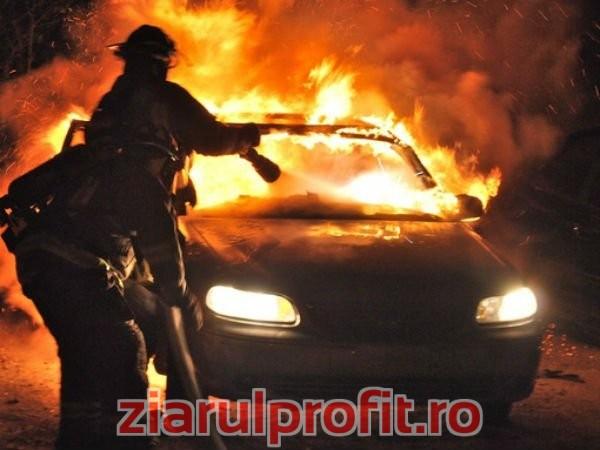 Patronul Amis Hobby din Pitești, ars in urma exploziei masinii in care se afla
