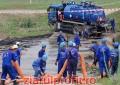 OMV Petrom modernizează infrastructura de conducte de ţiţei din vecinătatea râului Cotmeana