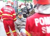 Accident spectaculos - Victimele preluate de SMURD