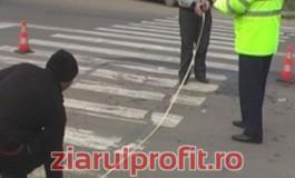 Un bătrân a căzut secerat pe trecerea de pietoni în faţa camionului militar