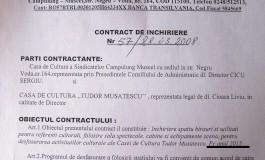 Directorii caselor de cultură din Câmpulung fals în acte ca să aibă acoperire la cheltuirea banului public