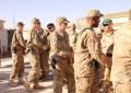Militarii argeseni au semnat un parteneriat cu soldatii americani