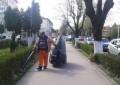 Aspiratorul stradal mai eficient decât s-ar fi crezut – Bulevardul Basarabilor curăţat zilnic ca la carte