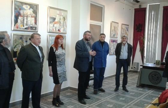 Bulgarii au expus la Muzeul Municipal