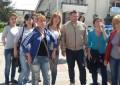 Liberalii din Curtea de Arges au protestat la Mioveni
