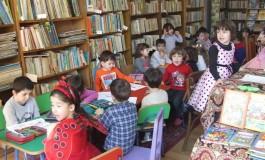 Copiii de la grădiniţă au sărbătorit ziua cărţii