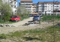 Groapă de gunoi lângă parcul de un milion de euro