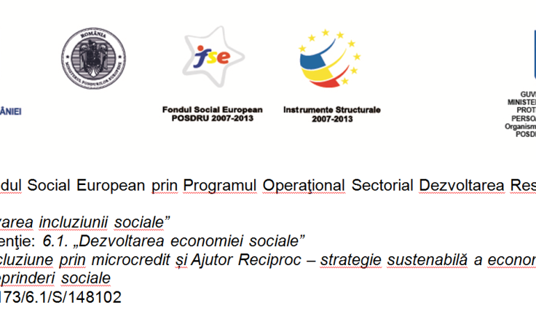 """INVITAŢIE – Conferintă de presă pentru lansarea proiectului  ,,ICAR Incluziune prin micro – Credit şi Ajutor Reciproc — strategie sustenabilă a economiei sociale pentru ocupare şi creare de întreprinderi sociale"""""""