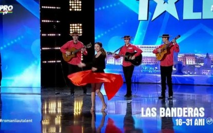 Pregătiri intense –Las Banderas şi tinerii dansatori vor să impresioneze la Românii au talent în următoarea etapă