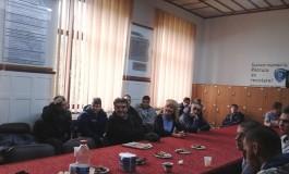 """Elevi din Serbia la Colegiul Naţional """"Dinicu Golescu"""" Câmpulung"""