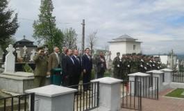 Ruşii au venit să îşi comemoreze eroii înmormântaţi la Curtea de Argeş