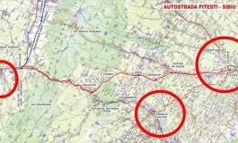 EXCLUSIV ! Presiuni pentru modificarea traseului austostrazii Pitesti-Sibiu - Se vrea traseul cel mai lung, prin Rm. Valcea nu prin Curtea de Arges