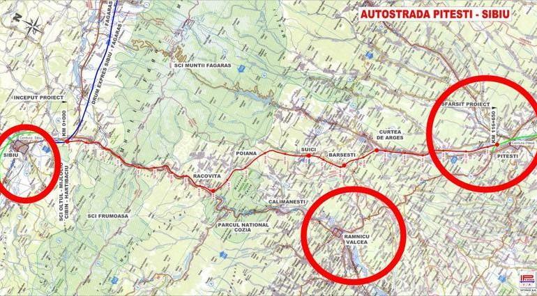 VESTE MARE despre AUTOSTRADA Sibiu – Pitești ! Opt oferte pentru proiectarea și execuția secțiunii Curtea de Arges- Pitesti
