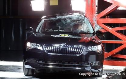 Rezultate EuroNCAP: 5 stele pentru Skoda Superb  – 4 stele pentru Hyundai i20 și 3 stele pentru Fiat Panda Cross