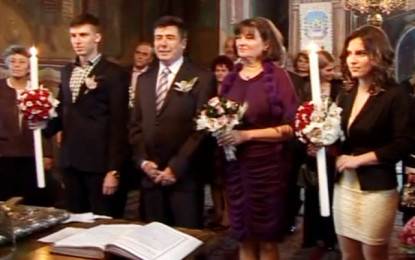 GALERIE FOTO – Seful CJ Argeş, Florin Tecău, naş la douǎ nunţi cu aceiaşi miri !