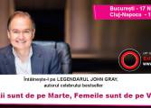 """Legendarul John Gray, autorul bestseller-ului """"Bărbații sunt de pe Marte, Femeile sunt de pe Venus"""", vine pentru prima dată în România"""