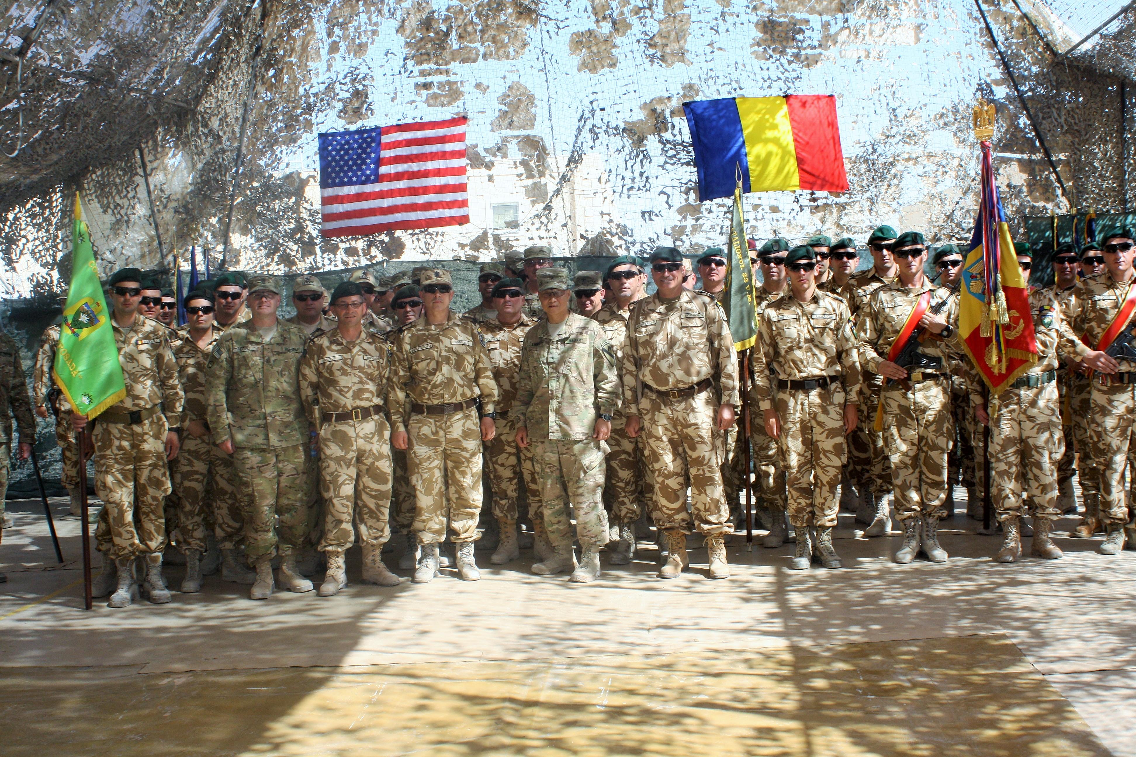 Inca 410 militari au plecat in Afganistan