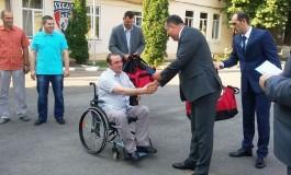 Un câmpulungen rănit în teatrul de operaţii din Afganistan a devenit sportiv al CSA Steaua București