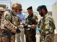 Militarii argeșeni din Afganistan văzuți de preot și psiholog înainte de fiecare misiune