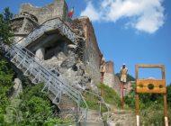 De astazi - S-a redeschis Cetatea Poienari