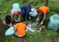Deţinuţii de la Colibaşi au participat la ecologizare la Mioveni